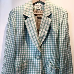 CHRISTIAN DIOR  blazer and skirt set
